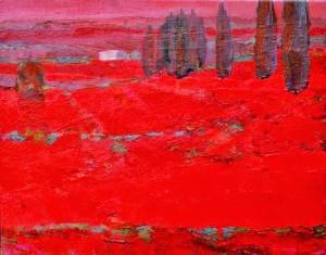 Czerwone_pola_XX_33x42_cm_2013_tech_dwie_kolumny