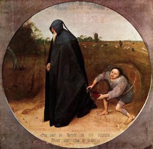 615px-Pieter_Bruegel_the_Elder_-_The_Misanthrope_-_WGA3521